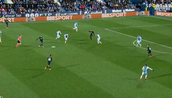 Real Madrid vs. Leganés: el genial 'Tiki-Taka' merengue en el gol de Casemiro [VIDEO]