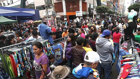 Un comerciante que trabajaba en Gamarra contó su experiencia a El Comercio. (Foto: GEC)