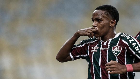 Kayky pondrá rumbo a la entidad inglesa a partir de enero de 2022. (Foto: Fluminense)
