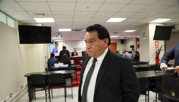 José Luna Gálvez acudió a escuchar la apelación de la fiscalía para pedir prisión preventiva en su contra. (Foto: GEC)