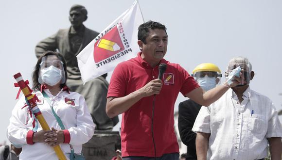 Representantes de Nuevo Perú, Frente Amplio y Juntos por el Perú tuvieron diversas opiniones sobre las expresiones de Guillermo Bermejo, pero coincidieron en cuestionarlas. (Foto: GEC)