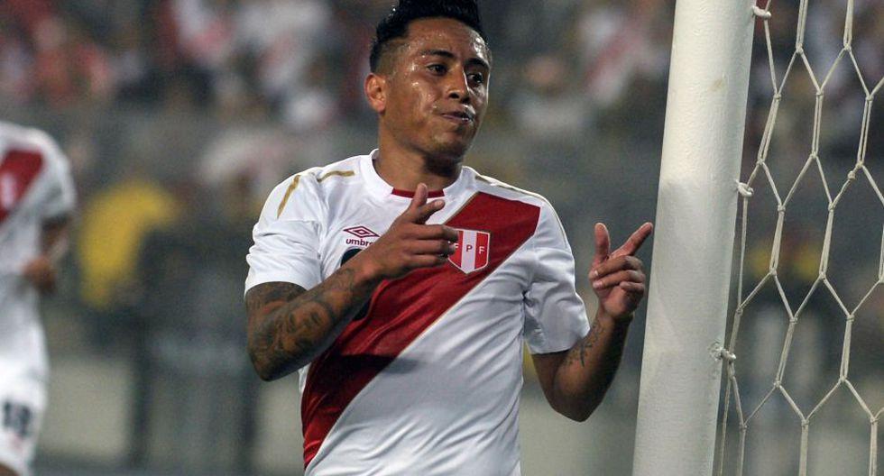 Christian Cueva fue autorizado para jugar por el Pachuca de la Liga MX | Foto: AFP