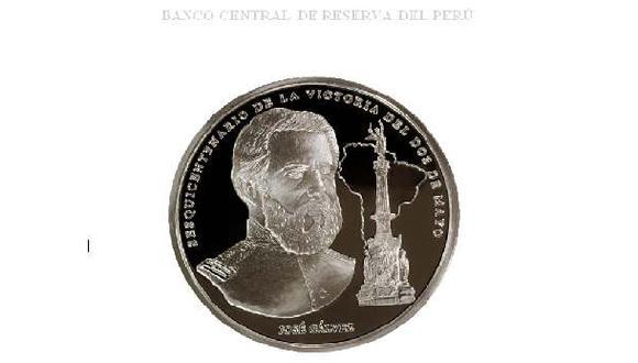 BCR emite moneda conmemorativa de victoria del Dos de Mayo
