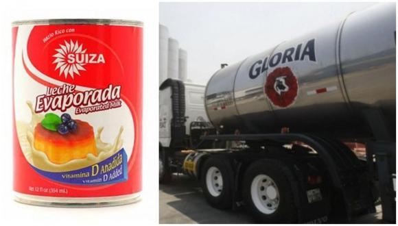 El FDA ha incluido a los siguientes tipos de leche evaporada de Gloria en su lista roja: leche condensada, leche normal, leche baja en grasa, leche de oveja, leche rellena y leche de imitación.
