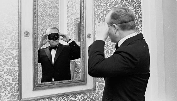 Periodista estadounidense Truman Capote (Foto original de The New York Times / Reuters)