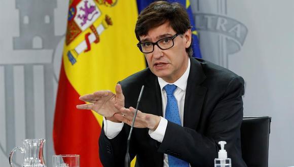 El ministro de Sanidad de España, Salvador Illa. ( EFE/J.J. Guillén).