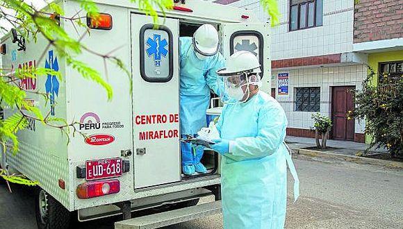 Huánuco: tres médicos se encuentran en cuidados intensivos y otros dos bajo observación.