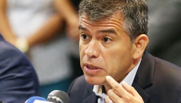 El candidato presidencial del Partido Morado, Julio Guzmán, aceptó participar en un debate con su contendor del PPC, Alberto Beingolea. (Foto: Hugo Perez / @photo.gec)
