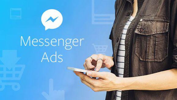 Los nuevos anuncios aparecerán en la pestaña de inicio de Facebook Messenger. (Foto: Facebook)