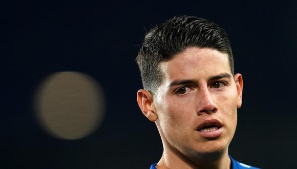 James llegó al Everton luego de su paso por el Bayern Munich. (Foto: AFP)