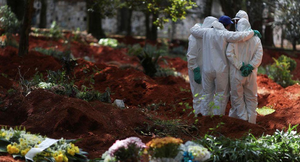 São Paulo estima 110.000 muertes por coronavirus en su jurisdicción. (Foto: AFP)