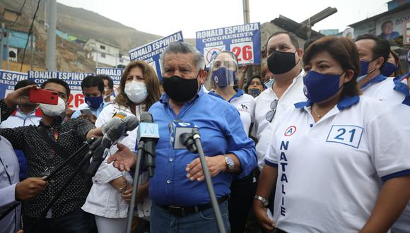 César Acuña indica que la gestión de las protestas agrarias es responsabilidad del Poder Ejecutivo. (Foto: Britanie Arroyo/ @photo.gec)