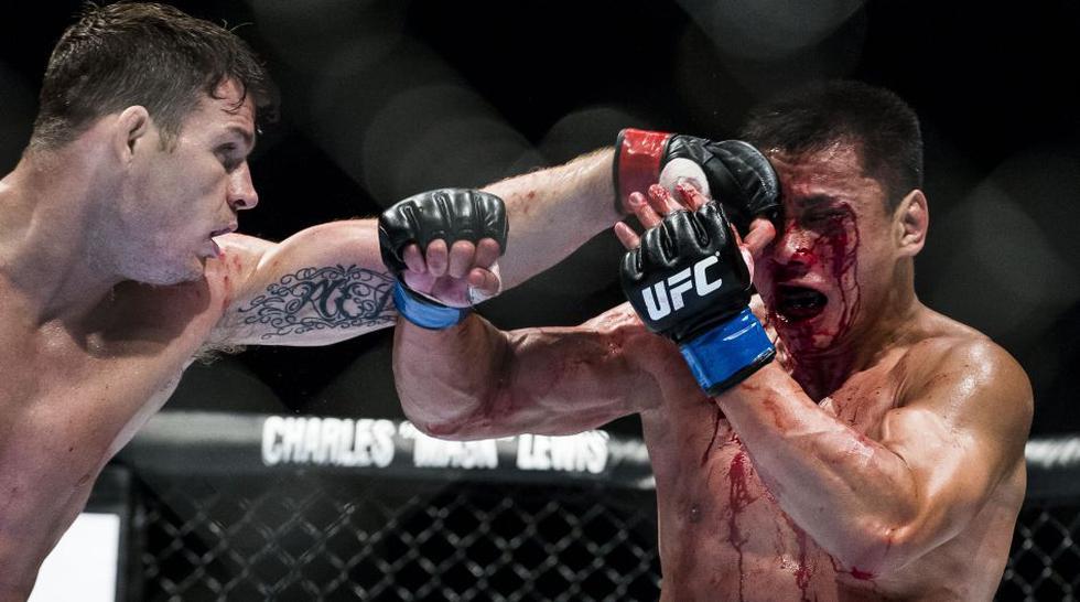 UFC: la despiadada paliza que recibió Le a manos de Bisping - 1