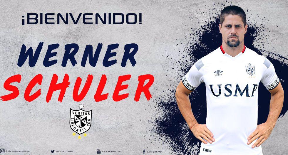 Werner Schuler procedente de Universitario. (Foto: Twitter)