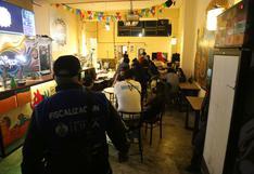 Cercado de Lima: intervienen a 50 personas en la clausura de cantinas en jirones Carabaya y Camaná