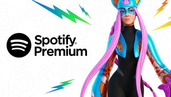 Conoce el truco para poder obtener 3 meses gratis de Spotify con Fortnite. (Foto: Fortnite)