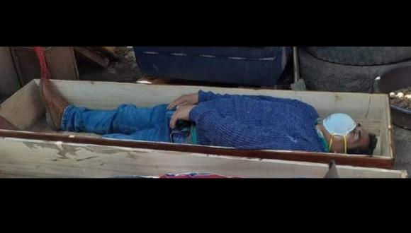 El burgomaestre de Tantará, en Huancavelica, habría estado ebrio al momento de su intervención. (Foto: Esteban Saldaña)