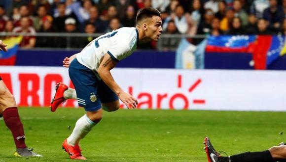 Lautaro Martínez, la promesa de la selección argentina. (Foto: Reuters)