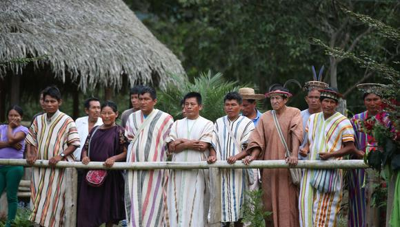 Presidente Martín Vizcarra descartó que se haya registrado casos de coronavirus en las comunidades indígenas. (Foto referencial: Andina)
