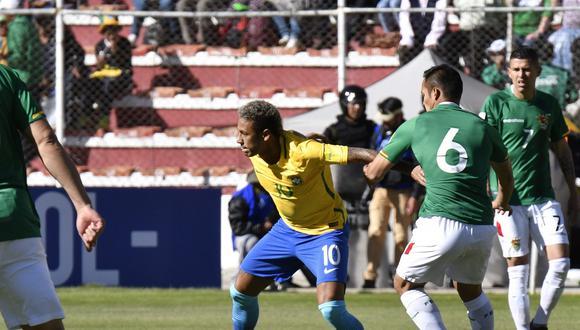 Neymar y la enorme 'huacha' que desquició a su rival. (Foto: USI)