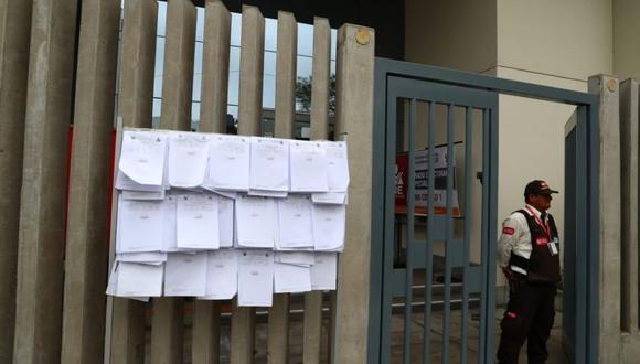 El JEE Lima Centro 1 recibirá hasta las 4 de la tarde las subsanaciones de los partidos que buscan competir en las elecciones parlamentarias 2020. (Foto: El Comercio)