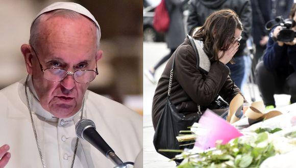 Papa sobre terror en París: Es parte de la III Guerra Mundial