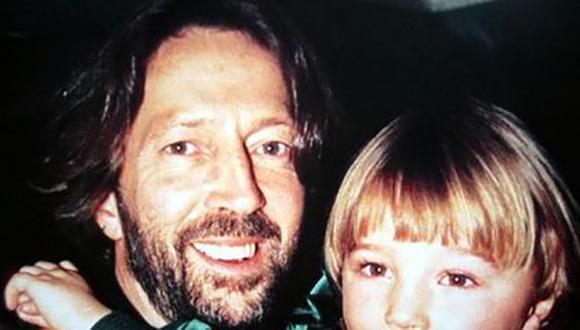 La historia detrás de 'Tears In Heaven' de Eric Clapton tiene que ver con una terrible tragedia que involucra a su hijo de 4 años, Connor Clapton (Foto: Getty Images)