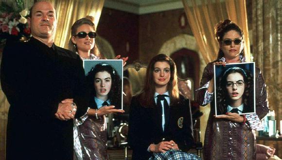 """""""El diario de la princesa"""" fue protagonizado por Anne Hathaway en 2001. (Foto: Disney)."""