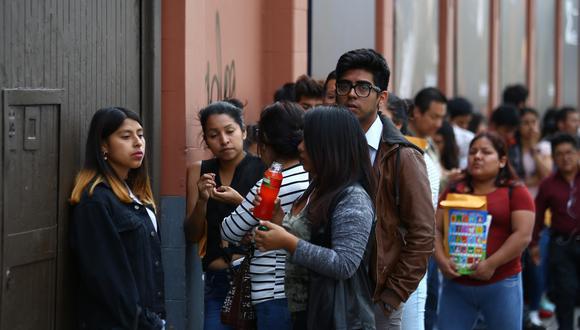 Gobierno promulgó la Política Nacional de Juventud. Se espera que 8 de cada 10 jóvenes mejoren su desarrollo integral en su activa participación en la sociedad. (Foto: GEC)