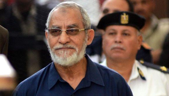 Confirmada la pena de muerte para líder de Hermanos Musulmanes