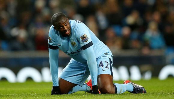 Yaya Touré dejará el Manchester City a fin de temporada