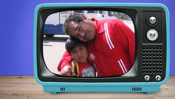 """Jhoan Mendoza como 'Camote' y Ramón García como 'Paquete' durante las grabaciones de la miniserie """"Camote y Paquete: aventura de Navidad"""". (Foto: El Comercio / Brenda Castañeda)"""