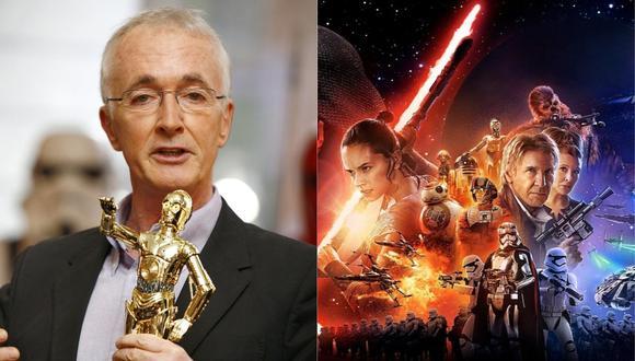 "Anthony Daniels dio vida a C-3PO en la saga de ""Star Wars"". (Foto. AFP/Disney)"