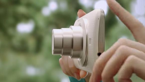 El nuevo Galaxy K Zoom tiene una potente cámara incorporada