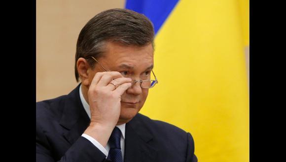 """Yanukovich desde Rusia: """"Nadie me ha derrocado"""""""