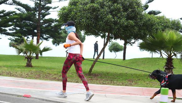 Gobierno autorizó actividades deportivas al aire libre en lugares autorizados. (Foto: Alessandro Currarino / GEC)