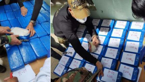 Cusco: PNP incauta 145 kilos de droga que fue enterrada y abandonada en una choza (Foto: PNP)