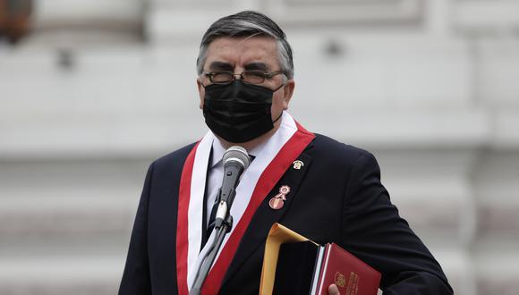 """El exvocero de Perú Libre aseguró que el mandatario """"es consciente"""" que gobierna para """"todos los peruanos"""". (Foto: El Comercio)"""