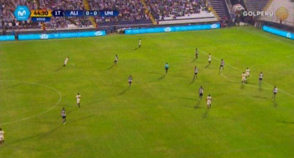 Alianza Lima vs. Universitario: el espectacular remate al ángulo del 'Loco' Vargas