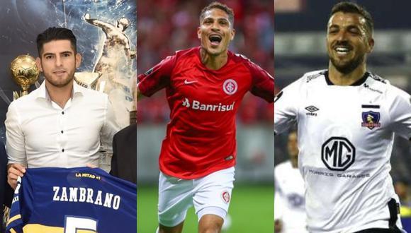 Para esta edición de la Libertadores, serán tres peruanos los que nos van a representar en clubes extranjeros. (Foto: AP)