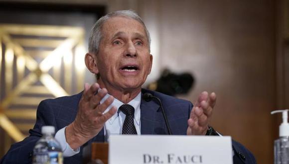 El doctor Anthony Fauci, el principal experto en enfermedades infecciosas de Estados Unidos, habla durante una audiencia en el Capitolio, en Washington. (Foto: AP/J. Scott Applewhite).