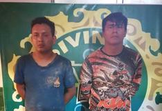 Ucayali: caen dos presuntos homicidas tras una feroz persecución y balacera