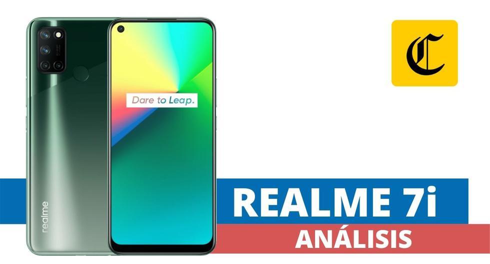 El smartphone Realme 7i es un dispositivo que ofrece una interesante relación calidad-precio, ya disponible en el mercado peruano. (El Comercio)