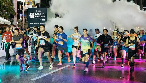 Colombia, México, Puerto Rico y Guatemala son los países latinoamericanos con más inscritos en la Maratón de Miami.