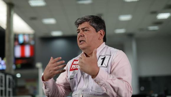 Torres Caro postula por quinta vez al Parlamento. Solo resultó elegido en el 2006, cuando fue con UPP-Partido Nacionalista. (Foto: Anthony Niño de Guzmán | El Comercio)