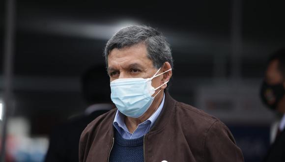 El ministro de Salud señaló que una cosa es lo que se consigna en las actas del Consejo de Ministros y otra es la conducción del Gobierno, la cual lidera el presidente Pedro Castillo. (Foto: El Comercio)