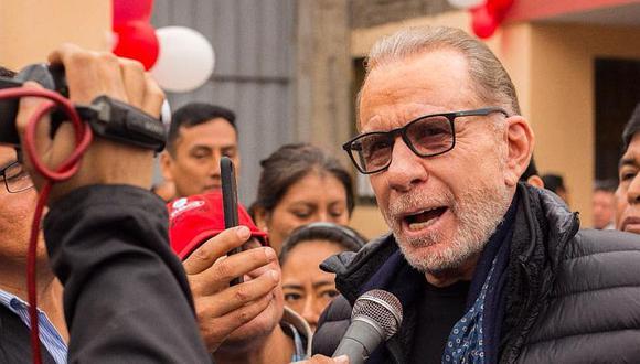 """Ricardo Belmont afirmó que el Perú es el """"único país"""" en la región al que """"entran los venezolanos a tropel"""". (Foto: Difusión)"""