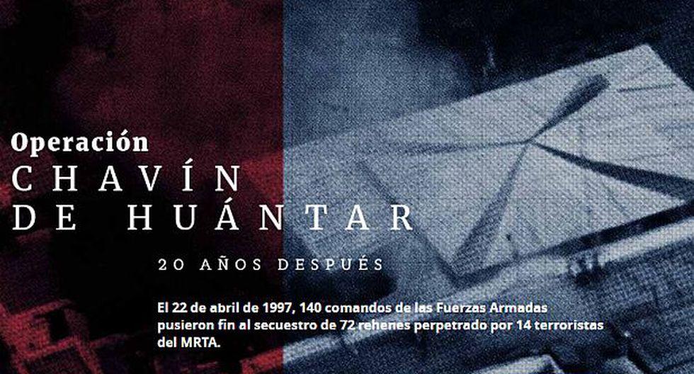 Operación Chavín de Huántar: a 20 años del rescate [ESPECIAL]