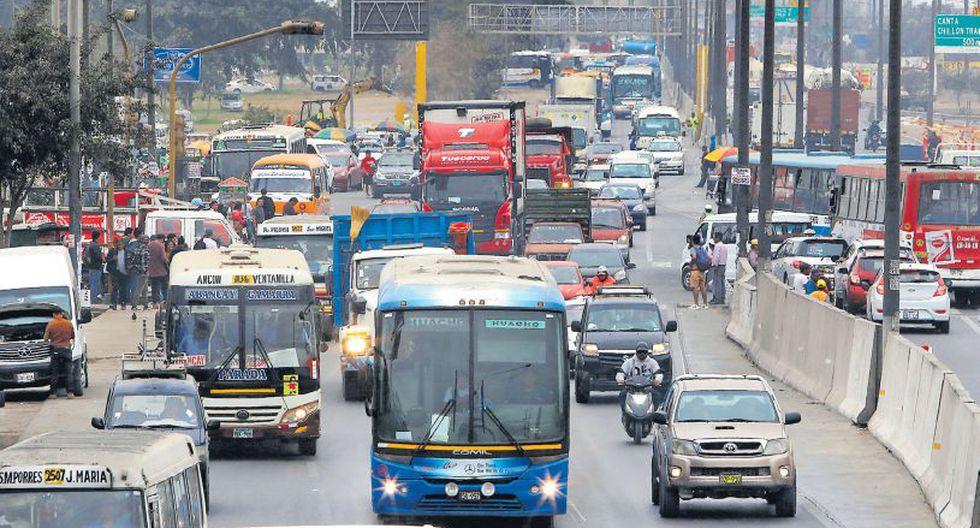 Con la aprobación de la autoridad del transporte urbano de Lima y Callao, los limeños podrán contar con un único sistema de pago de pasaje. El ente ordenará las rutas de los buses. (Miguel Bellido / El Comercio)