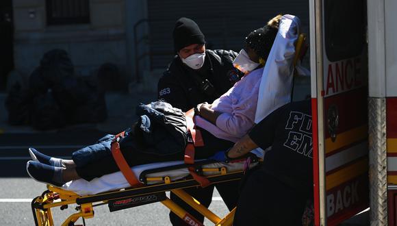 Estados Unidos superará en octubre las 200.000 muertes por coronavirus, según estudio. (Foto: Angela Weiss / AFP).